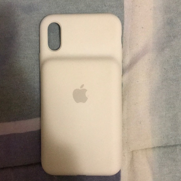 Other - iPhone X Charging Case all White
